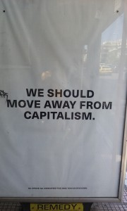 move away from capitalism